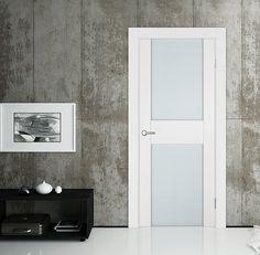 """Межкомнатная дверь """"Импреза"""" в отделке """"белая эмаль высокий глянец"""". #двери #межкомнатные #белые #рулес #русский_лес"""