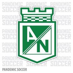 Atletico Nacional Medellin Colombia Vinyl Sticker Decal Calcomania
