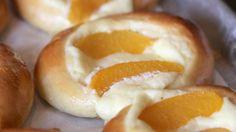 Little Gretel's Czech Traditional Farmer's Cheese and Peach Kolaches