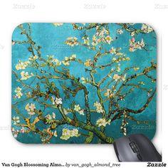 Van Gogh Blossoming Almond Tree Fine Art Mouse Pad