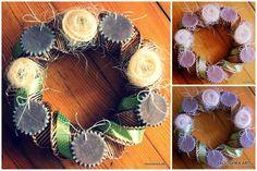 Świąteczny wieniec (sweet cookies wreath)