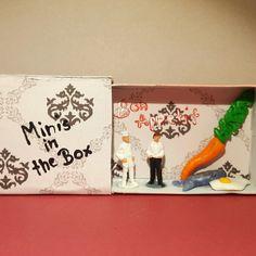 """Minis in the box Miniaturen in der Streichholzschachtel """"Gute Küche"""""""
