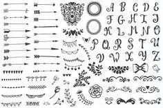 310 elements - Big Vintage Set - Objects
