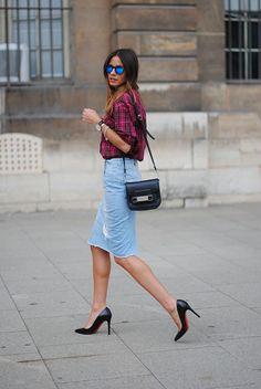 Cómo usar una falda de mezclilla [FOTOS] | ActitudFEM