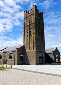 Sosban Restaurant in Llanelli, housed in an impressive former Victorian engine pumphouse - Readers' Restaurant of the Year award winner for Wales