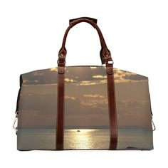 Awesome Sea Scene Classic Travel Bag (Model 1643)