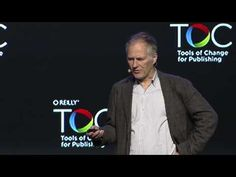 """TOC Tim O'Reilly, """"Some Reasons for Optimism"""" My favorite part of this video (which I LOVED all the way around) is how he ends. He says if you want to succeed in the publishing industry (or any industry really), """"Work on stuff that matters. Becoming A Writer, Book Writing Tips, O Reilly, Writers Write, Fiction Writing, Self Publishing, My Favorite Part, Optimism, Creative Writing"""
