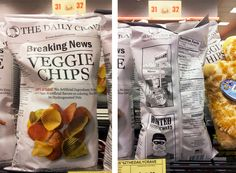 veggie chips Chip Packaging, Packaging Design, Healthy Chips, Veggie Chips, Coconut Water, Cravings, Healthy Living, Snack Recipes