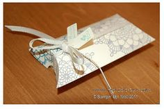 Stampin Up! Pillow Box - Delicate Doilies
