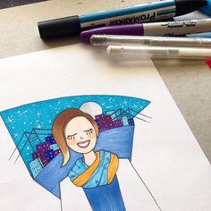 #mulpix orada bir istanbul  #duseyasimptot  #istanbul  #kişiyeözelçizim  #çizim  #illustration  #illustrasyon  #draw  #drawing  #art  #stars  #night  #blue  #mavi  #craft  #creative  #art  #instaart  #copic  #copicart  #copicdesign  #copicmarker  #marker  #purple  #igersturkey  #igersistanbul  #turuncu  #renk  #bosphorus  #boğazköprüsü  #moon  #hediye
