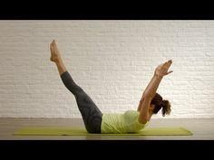 Pilates online - Tonifica tu abdomen en 5 minutos - YouTube