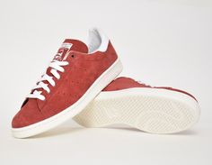 #adidas Stan Smith Suede Red #sneakers