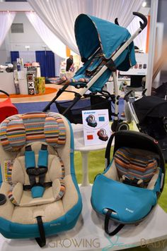 Growing Your Baby shared all sorts of photos of Quinny and Maxi-Cosi's booths at this year's ABC Kids Expo.