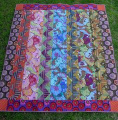 All seasons garden quilt by Cabbage Quilts, via Flickr