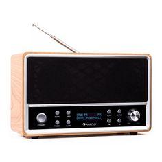auna Charleston DAB+-Digitalradio tragbar UKW RDS Wecker buche: Zum vergrößern Bild anklicken!