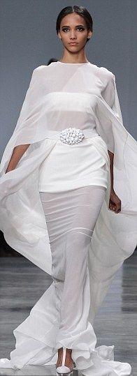 Alexandre Vauthier presents 'nip-slip' dress at Paris Fashion Week - but who…
