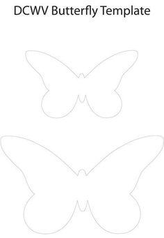 moldes para hacer mariposas de fieltro2 (5)