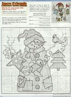 Brilliant Cross Stitch Embroidery Tips Ideas. Mesmerizing Cross Stitch Embroidery Tips Ideas. Snowman Cross Stitch Pattern, Xmas Cross Stitch, Just Cross Stitch, Cross Stitch Heart, Counted Cross Stitch Patterns, Cross Stitch Designs, Cross Stitching, Cross Stitch Embroidery, Embroidery Patterns