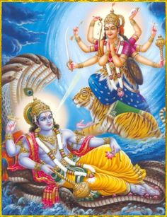 """SHRI MAHA VISHNU ॐ Artist: Sivas """"This divine energy of Mine, consisting of the three modes of material nature, is difficult to overcome. But those who have surrendered unto Me can easily cross beyond it.""""~Bhagavad Gita 7.14 Please read or listen to """"Bhagavad Gita as it is"""" online: http://gitopanishad.com/"""