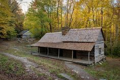 """Noah """"Bud"""" Ogle place along the Roaring Fork Motor Nature Trail in the Great Smoky Mountains"""