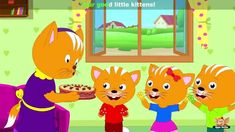 Three Little Kittens - Nursery Rhyme with Karaoke