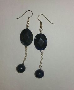 Check out this item in my Etsy shop https://www.etsy.com/listing/221615252/sodalite-beaded-dangle-earrings-w