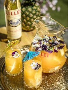 Der raffinierte Drink mit französischem Flair: Lillet Tropical. Hier geht's zum Rezept: