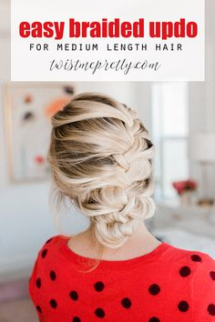 If you're looking for a few easy Valentine's Hair Tutorials - look no further. I'm sharing four of my favorite styles that work on any length! Short Blonde Pixie, Pixie Haircut For Thick Hair, Short Hair Cuts, Short Hair Styles, Short Hairstyles For Women, Cute Hairstyles, Braided Hairstyles, Office Hairstyles, Holiday Hairstyles