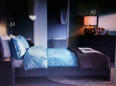Ikea bedroom that I adore