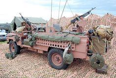 SAS Pink Panther Land Rover