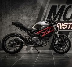 """Monsters Inc. By: Moto Instinct, Thailand Via: @cyclelaw  #ducatistagram  #ducati #monster #796"""