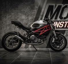 """Monsters Inc. By: Moto Instinct, Thailand Via: @cyclelaw  #ducatistagram  #ducati #monster #796"""
