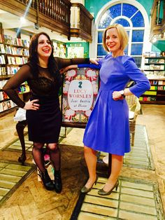 Delightful Doctors Janina Ramirez and Lucy Worsley. Dr Lucy Worsley, Bbc Presenters, Photography Movies, I Love Lucy, Historian, Hosiery, My Hero, Movie Stars, How To Look Better