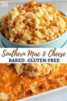 Gluten-free mac and cheese baked Southern style. It's super creamy and made with 3 types of cheeses! It's an easy gluten-free macaroni and cheese recipe made in less than 30 minutes. free recipes easy Gluten-Free Mac and Cheese Gluten Free Recipes For Dinner, Gf Recipes, Cheese Recipes, Dinner Recipes, Cooking Recipes, Easy Recipes, Best Gluten Free Recipes, Chicken Recipes, Easy Gluten Free Meals