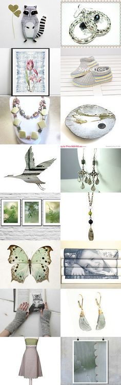 Premonition of spring! by Masha and Tasha on Etsy--Pinned with TreasuryPin.com
