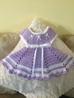 New crochet patterns free baby clothes doll dresses ideas Crochet Doll Dress, Crochet Doll Clothes, Knit Crochet, Crochet Dresses, Baby Patterns, Knitting Patterns, Crochet Patterns, Style Patterns, Baby Girl Crochet