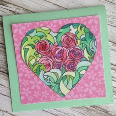 Card designed by Kelly Klapstein featuring @chameleonartpro and @coredinations @csmscrapbookr @kellycreates #coredinations #chameleonpens #card #valentine #creativescrapbookermagazine #csmscrapbooker #cardmaking #colouring #coloring