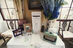 A Glamorous David Fielden Dress And Pink Sparkly Shoes for a Laid Back 1930s Inspired Wedding