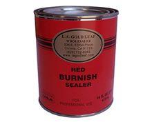 LA Gold Leaf Red Burnish Sealer Primer  Pint  16 Oz ** You can get additional details at the affiliate link Amazon.com.