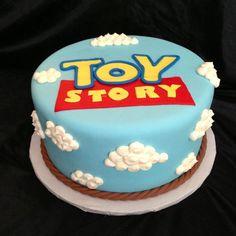 Toy Story birthday cake for cake smash Fête Toy Story, Toy Story Baby, Toy Story Theme, Toy Story Birthday Cake, 3rd Birthday Cakes, Birthday Parties, Birthday Ideas, Birthday Cake Disney, Bolos Toy Story