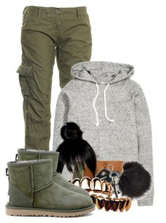 """""""Untitled #2825"""" by alisha-caprise ❤ liked on Polyvore featuring Superdry, Porsche and UGG Australia"""