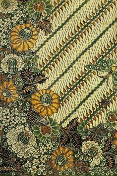 Gerardo: I like the open pattern Batik Art, Batik Prints, Textile Prints, Motifs Textiles, Textile Patterns, Print Patterns, Fabric Design, Pattern Design, Indonesian Art