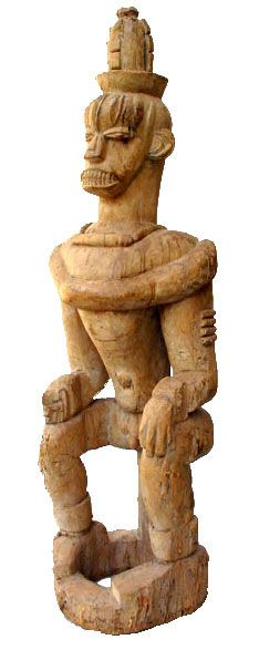 Urhobo Edjo Re Akare ('Warrior' Spirit Figure), Nigeria Ghana, Warrior Spirit, Art Africain, African Culture, West Africa, Tribal Art, Art And Architecture, Worship, Lion Sculpture