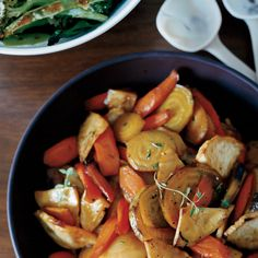 Honey-Glazed Roasted Root Vegetables | Food & Wine