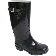 Women's Puddles Rain Boot,7 B(M) US,Solid Black -- Click image for more details. (This is an affiliate link) #Outdoor