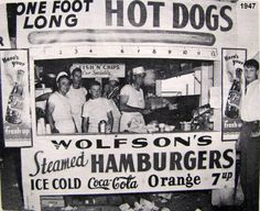 Bygone Walla Walla: vintage images of the City and County, collected by Joe Drazan: Wolfson's Drive-In at Melrose & Wellington, and his (Bill Wolfson) concession stand at the SE Washington Fair