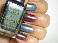Barry M Chameleon Colour Changing Nail Effects in Blue