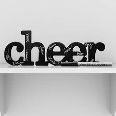 Cheer SportWORDS | Decorative Cheer Words | Cheer Coach Gift