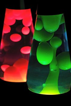 Lava Lamps - good for science partys