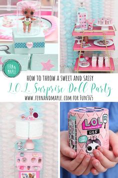 L.O.L. Surprise Doll Trading Birthday Party! #fun365 #girlsparty #kidsparty #partyideas #party #loldoll #birthdayparty
